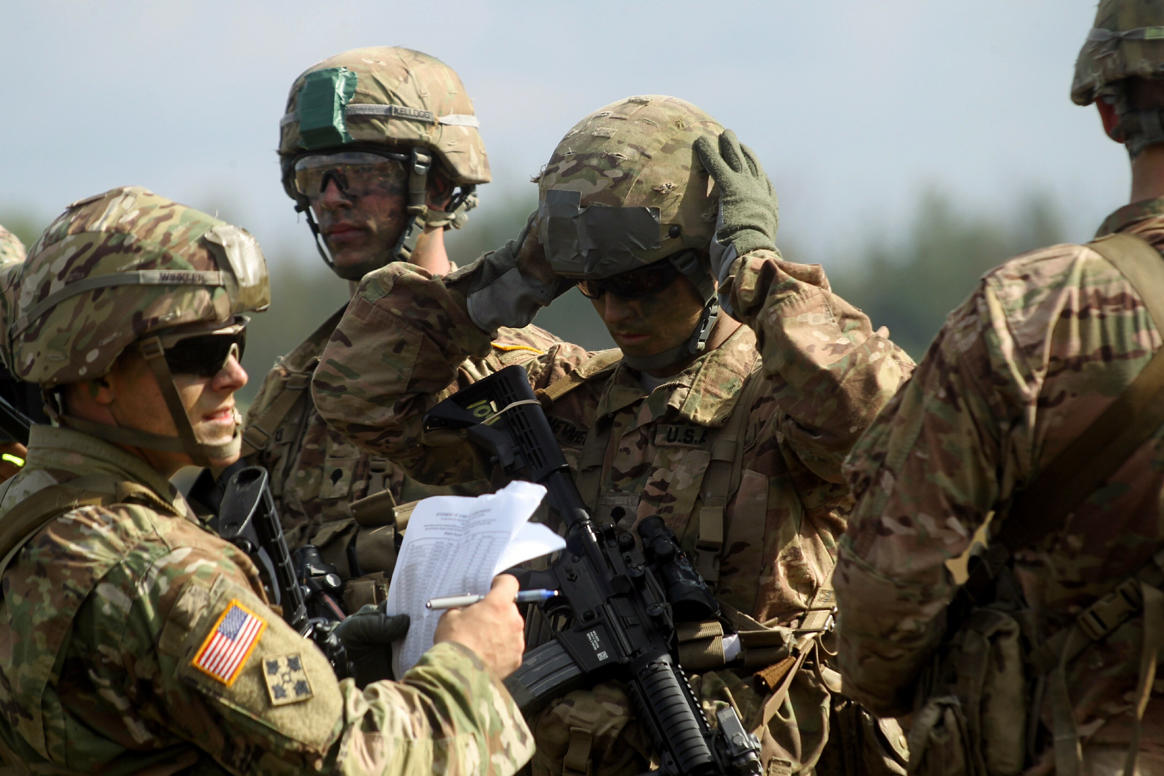 United States, Training of Military Personnel on the