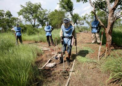 Neutralisation and Removal of Landmines