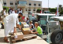 Assistance Delivered in South Libya